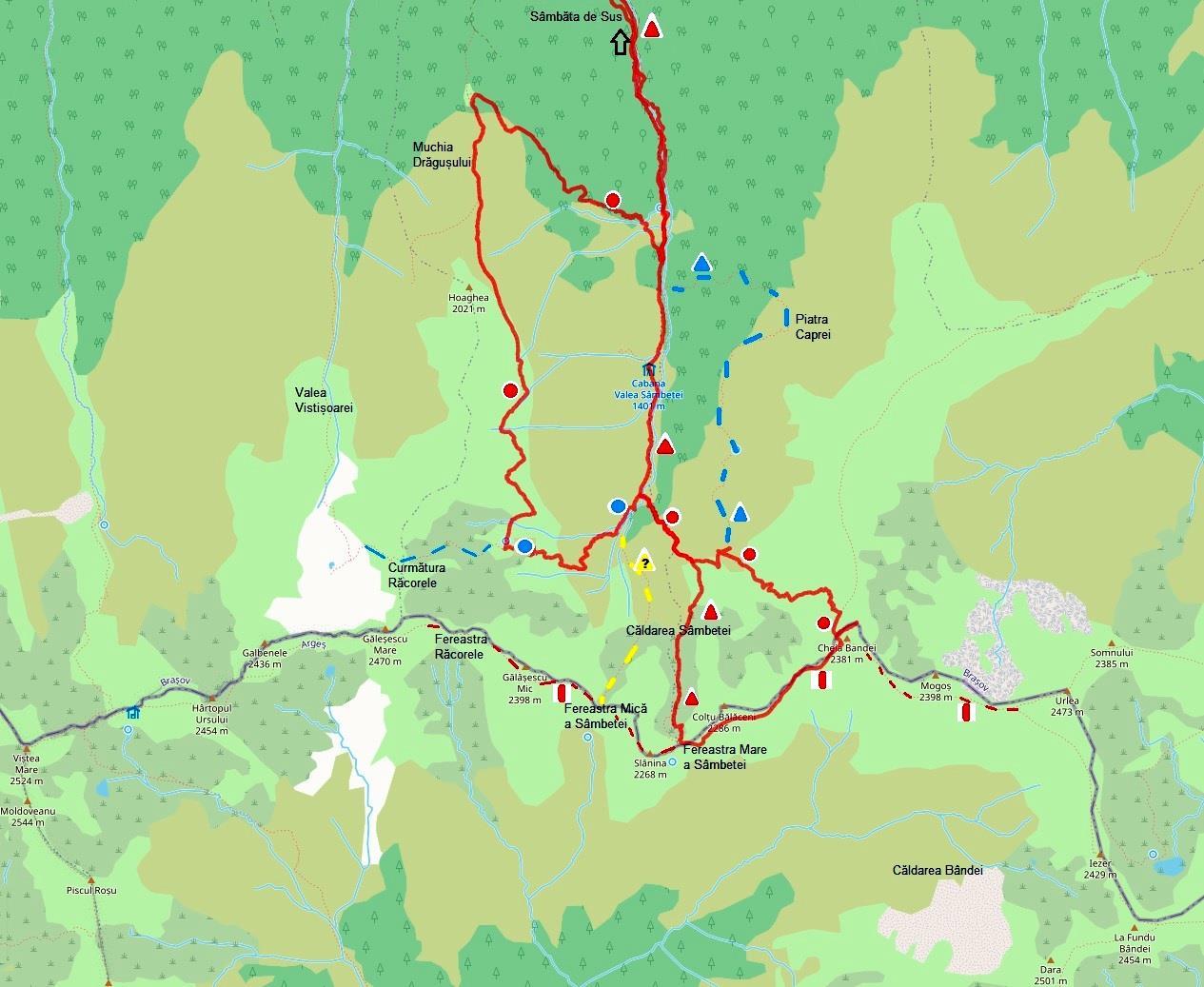 harta Valea Sambetei